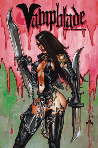 Vampblade #1 (AOD Simon Bisley Cover)