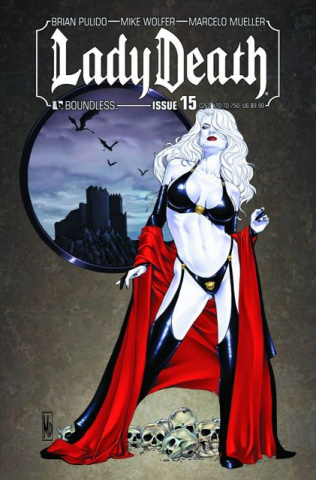 Lady Death #15 (C2E2 Cover)