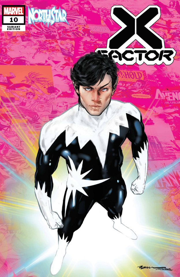 X-Factor #10 (Jimenez Pride Month Cover)