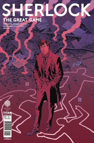 Sherlock: The Great Game #1 (Kowalski Cover)
