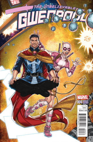 Gwenpool #4 (Lim Cover)