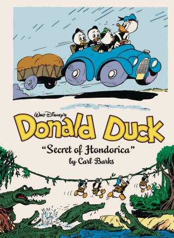 Donald Duck Vol. 10: Secret of Hondorica