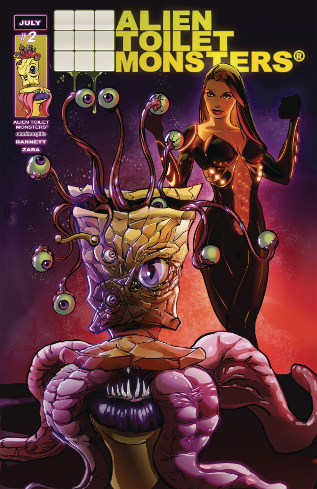 Alien Toilet Monsters #2 (The Number Two Cover A)