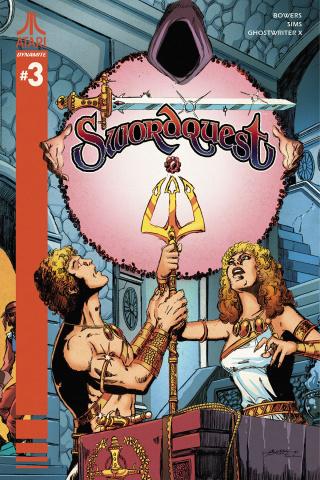 Swordquest #3 (Perez Cover)