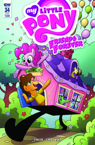 My Little Pony: Friends Forever #34 (Subscription Cover)