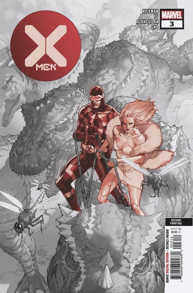 X-Men #3 (Yu 2nd Printing)