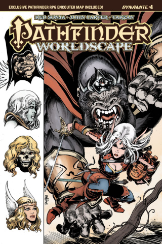 Pathfinder: Worldscape #4 (Mandrake Cover)