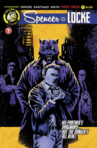 Spencer & Locke #1 (House Cover)