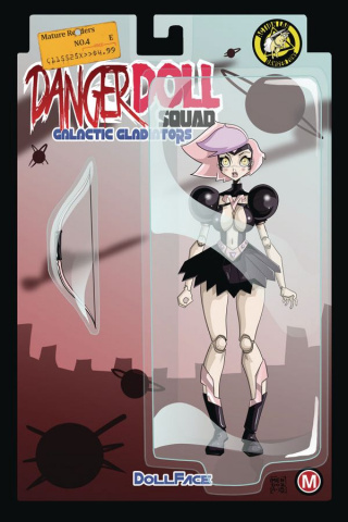 Danger Doll Squad: Galactic Gladiators #4 (Mendoza Cover)
