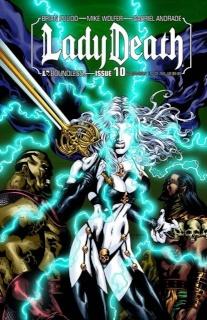 Lady Death #10 (Virgina Comicon Cover)
