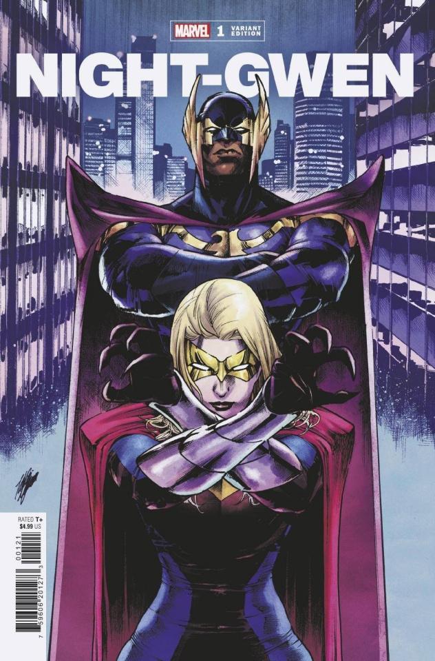 Heroes Reborn: Night-Gwen #1 (Miyazawa Cover)