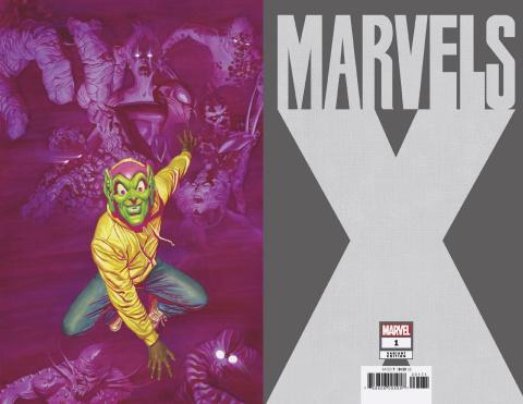 Marvels X #1 (Alex Ross Virgin Cover)