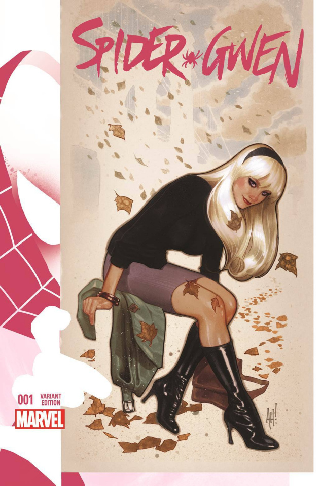 Spider-Gwen #1 (Hughes Cover)