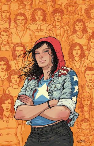 America #3 (Villalobos Cover)