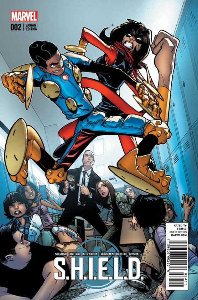 S.H.I.E.L.D. #2 (Ramos Cover)