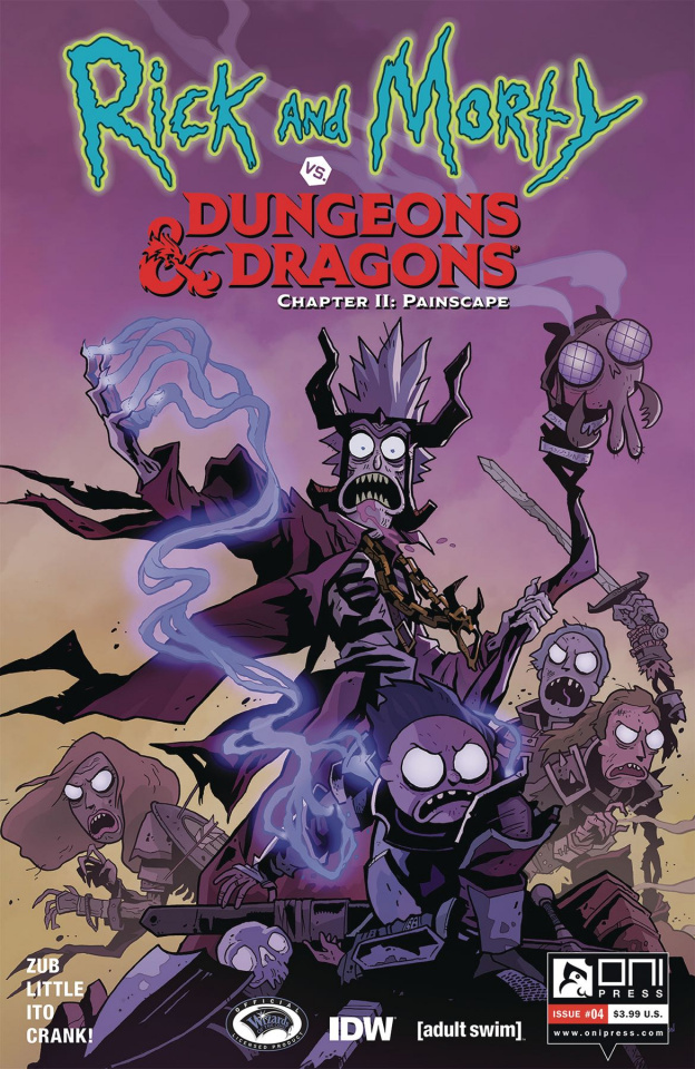 Rick and Morty vs. Dungeons & Dragons II: Painscape #4 (Little Cover)