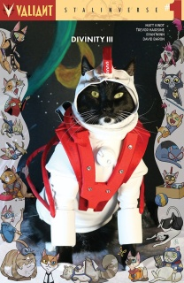Divinity III: Stalinverse #1 (Cat Cosplay Cover)