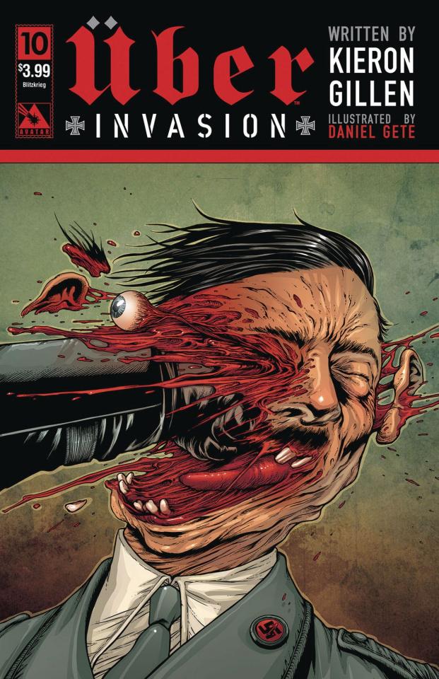 Über: Invasion #10 (Blitzkreig Cover)
