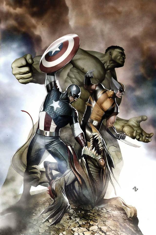 Avengers #3 (Granov Cover)