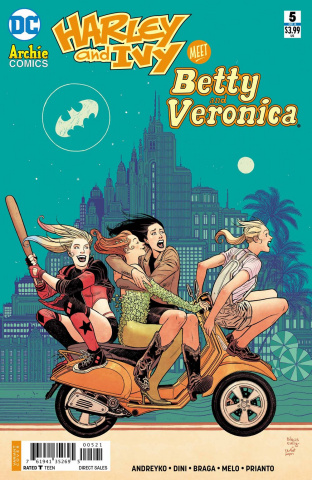 Harley and Ivy Meet Betty and Veronica #5 (Variant Cover)
