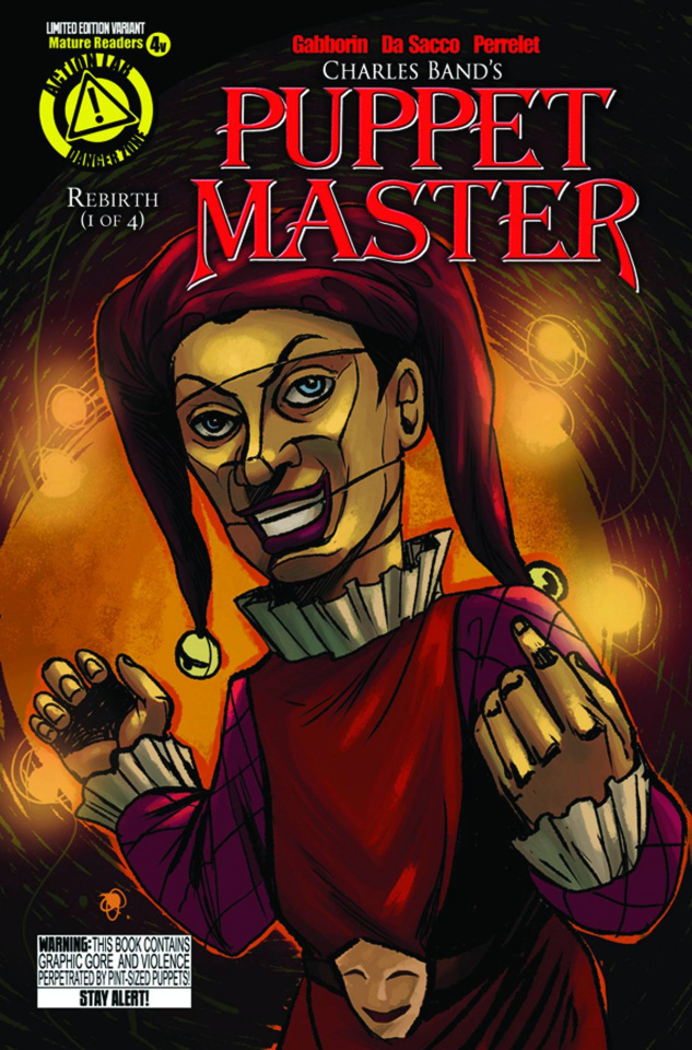 Puppet Master #4 (Jester Cover)