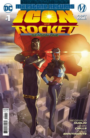 Icon and Rocket, Season One #1 (Taurin Clarke Cover)