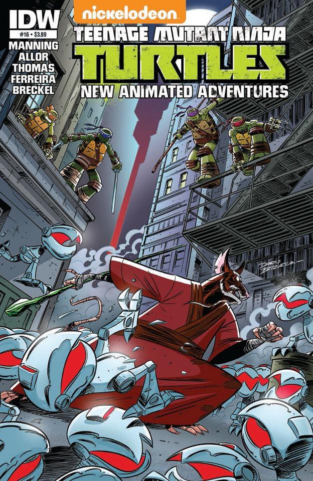 Teenage Mutant Ninja Turtles: New Animated Adventures #16