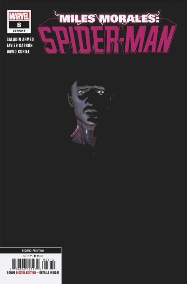 Miles Morales: Spider-Man #8 (Garron 2nd Printing)