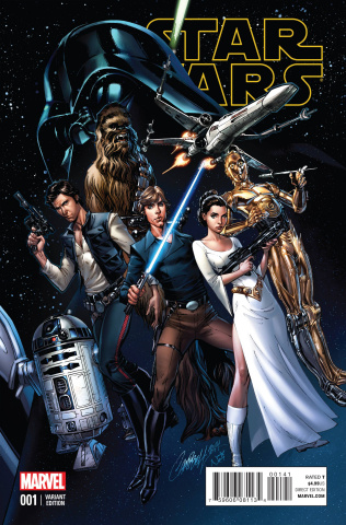 Star Wars #1 (Campbell Connecting Cover)
