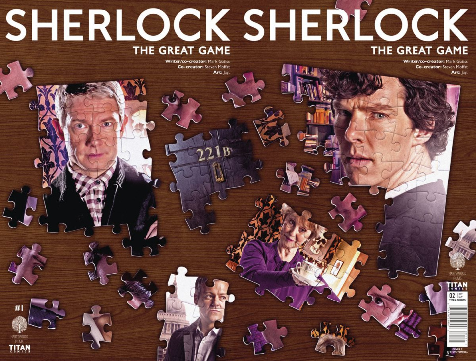Sherlock: The Great Game #2 (Photo Cover)
