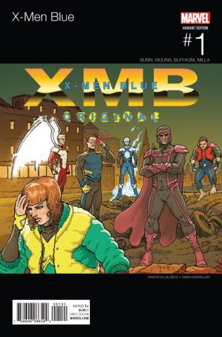 X-Men: Blue #1 (Villalobos Hip Hop Cover)