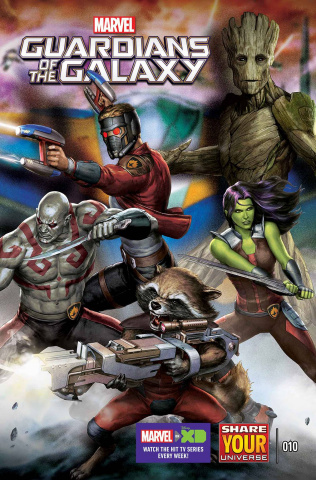 Marvel Universe: Guardians of the Galaxy #10