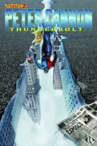 Peter Cannon: Thunderbolt #8 (Lau Cover)