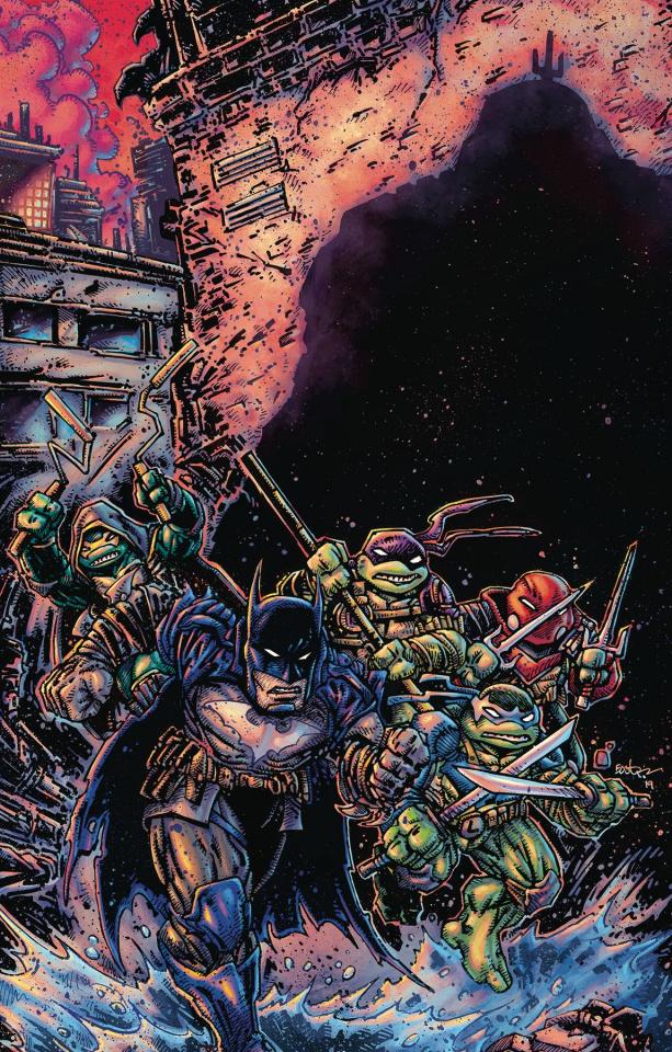 Batman / Teenage Mutant Ninja Turtles III #3 (Variant Cover)