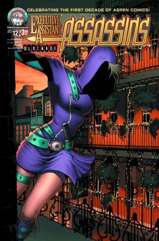 Executive Assistant: Assassins #12 (Hanson Cover)