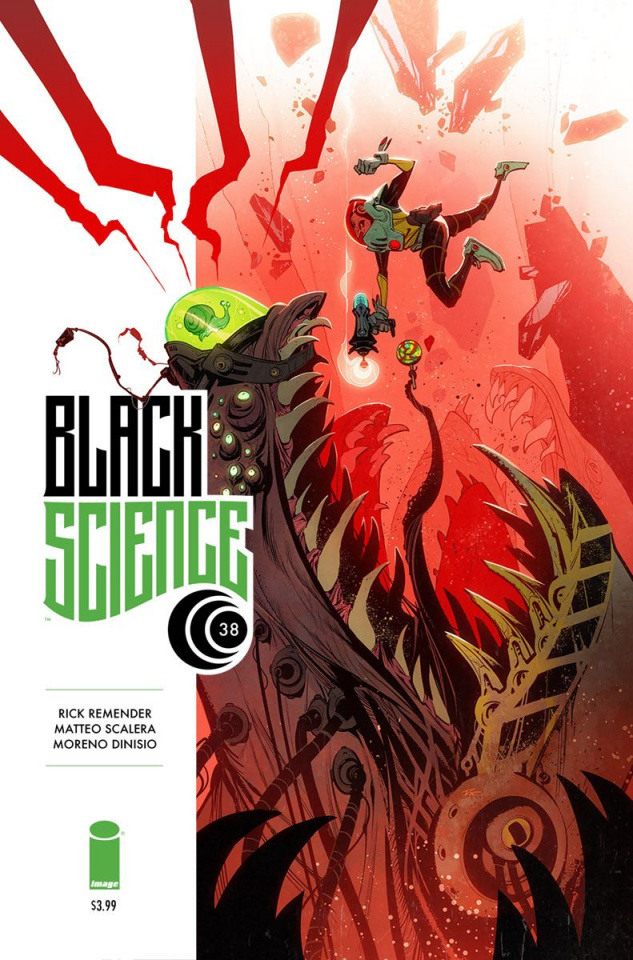 Black Science #38 (Creature Box Cover)