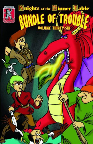 Knights of the Dinner Table: Bundle of Trouble Vol. 36
