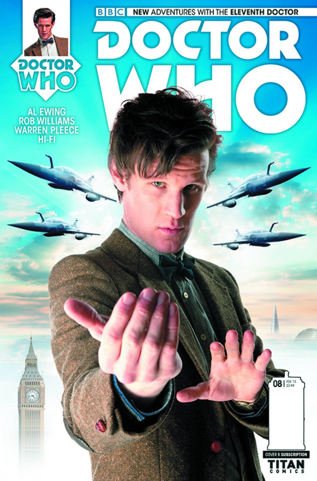 Doctor Who: New Adventures with the Eleventh Doctor #8 (Subscription Photo Cover)