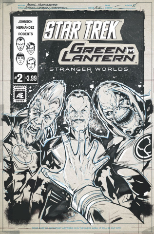 Star Trek / Green Lantern #2 (Artist Edition)