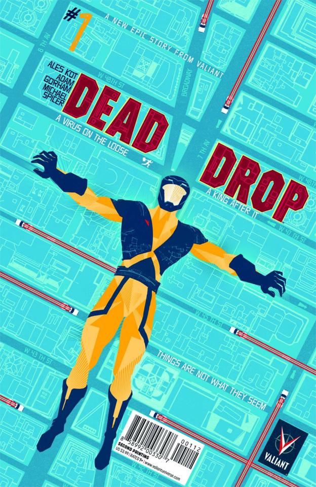Dead Drop #1 (2nd Printing)
