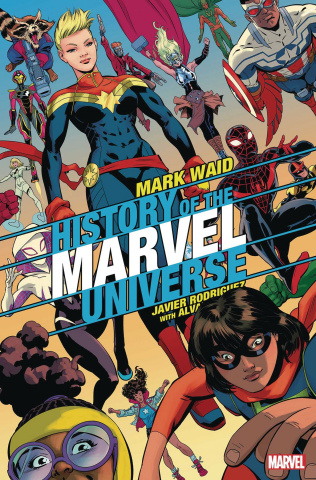 History of the Marvel Universe #6 (Rodriguez Cover)