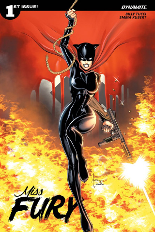 Miss Fury #1 (Tucci Cover)