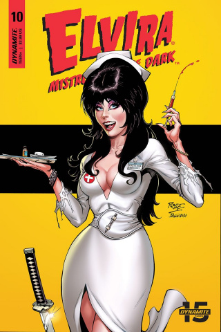 Elvira: Mistress of the Dark #10 (Royle Cover)