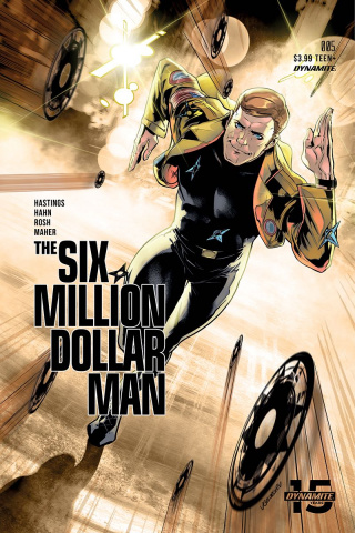 The Six Million Dollar Man #5 (Georgiev Cover)