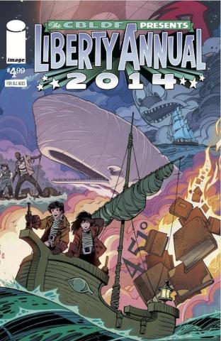 Comic Book Legal Defense Fund Liberty Annual 2014 (Simonson Cover)
