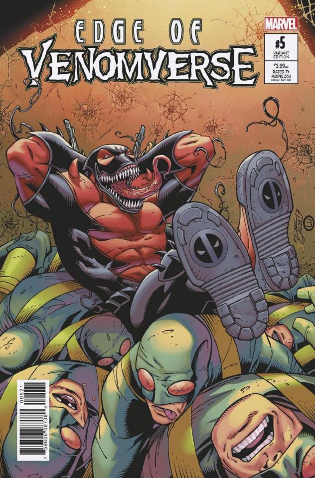 Edge of Venomverse #5 (Lim Cover)