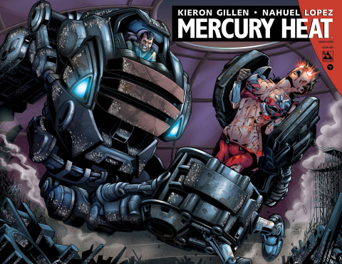 Mercury Heat #9 (Wrap Cover)