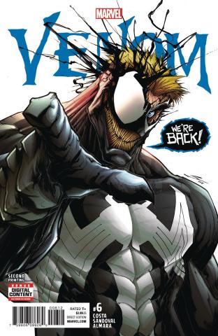 Venom #6 (2nd Printing Sandoval Cover)