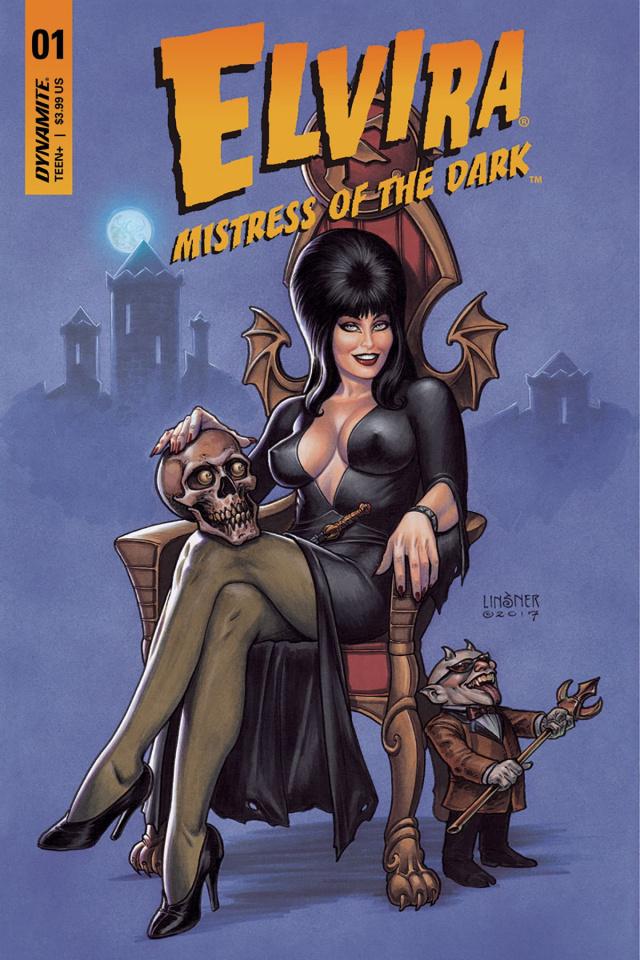 Elvira: Mistress of the Dark #1 (50 Copy Elvira Signed Cover)