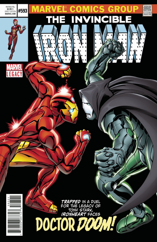 Invincible Iron Man #593 (2nd Printing)